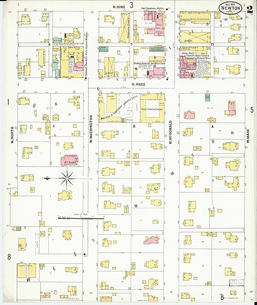 Jasper County Iowa Map.File Sanborn Fire Insurance Map From Newton Jasper County Iowa