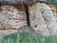 Sandsteinformation des Klotzberg.JPG