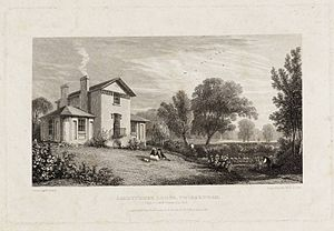 Sandycombe Lodge - Sandycombe Lodge in 1814