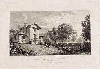 house at 40 Sandycoombe Road, Twickenham, London
