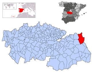 Santa Cruz de la Zarza Municipality in Castile-La Mancha, Spain