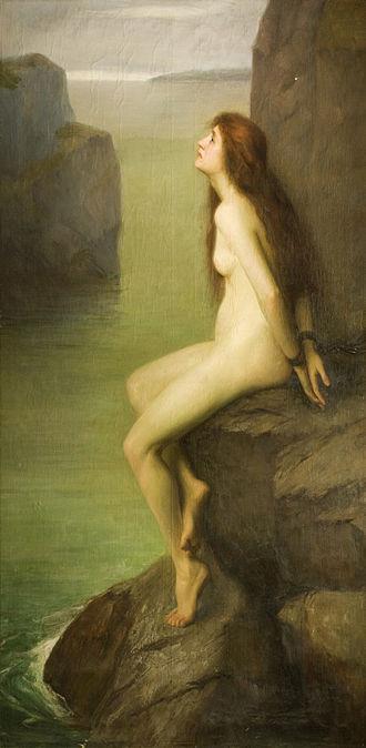 Sara Page - Sara Page, Andromeda, 1902, Wolverhampton Art Gallery