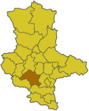 Mansfelder Land (district) - Image: Saxony anhalt ml