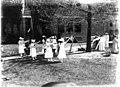 Scene in Oxford College production of 'The Piper' 1911 (3190737467).jpg