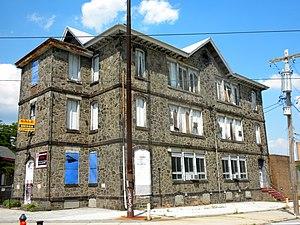 Colonial Germantown Historic District - Image: Schaeffer School 1876