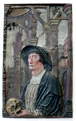 Tiedemann Giese - Tiedemann Giese, around 1525–1530, painting by Hans Schenck.