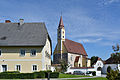 Schleißheim Pfarrkirche Pfarrhof quer.jpg
