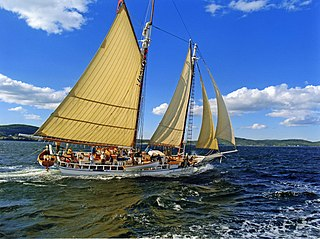 Isaac H. Evans US two-masted schooner
