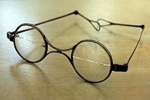 Schuberts Brille (Quelle: Wikimedia)
