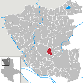 Location of Schwiesau in Altmarkkreis Salzwedel district prior to its merger into Klötze