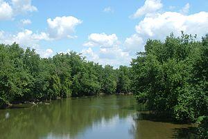 Scioto River - The Scioto River near South Bloomfield