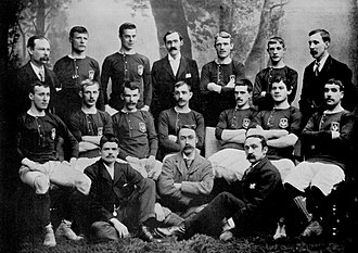 History of the Scotland national football team - The Scotland national team in 1895.