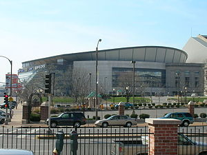 2006–07 NCAA Division I men's ice hockey season - The Scottrade Center in St. Louis, Missouri hosted the 2007 Frozen Four