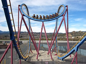 Scream (roller coaster) - Image: Scream cobra roll