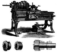 Screw making machine, 1871