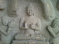 Sculpted relief of Buddha at Thotlakonda.jpg