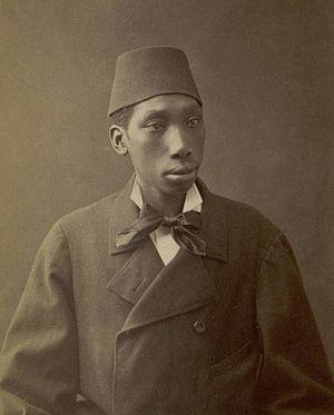 Afro Turks - Black eunuch of the Ottoman Sultan.