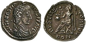 Sebastianus - Siliqua of Sebastianus