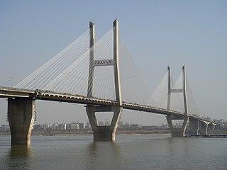Second Wuhan Yangtze River Bridge bridge in Peoples Republic of China
