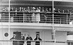 "Second class passengers aboard the ""Empress of Scotland"" in the Mid-Atlantic ocean, 1925 (5351450451).jpg"