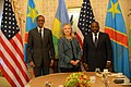 Secretary Clinton Meets With Congolese President Kabila and Rwandan President Kagame (8023168313).jpg