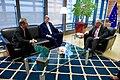 Secretary Kerry, Ambassador Gardner Meet With European Commission President Juncker in Brussels, Belgium (25930327592).jpg