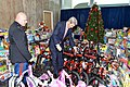 Secretary Kerry Checks Out the Toys Donated by State Department Employees for Toys for Tots (23516647470).jpg