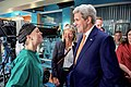 "Secretary Kerry Meets Melissa George, The Star Of Executive Producer Kelly Chapman's New Television Series ""Heartbeat"" (25049607096).jpg"