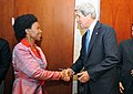 Secretary Kerry Meets With South African Foreign Minister Nkoana-Mashabane (8826627354).jpg