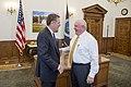 Secretary Perdue meets Ambassador Lighthizer 20170523-OSEC-PJK-0005 (34004959564).jpg