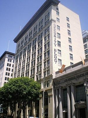 Security Building (Los Angeles) - Image: Security Building (Los Angeles)