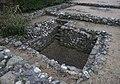 Segontium Roman Fort 20171018 strongroom below sacellum in principia.jpg