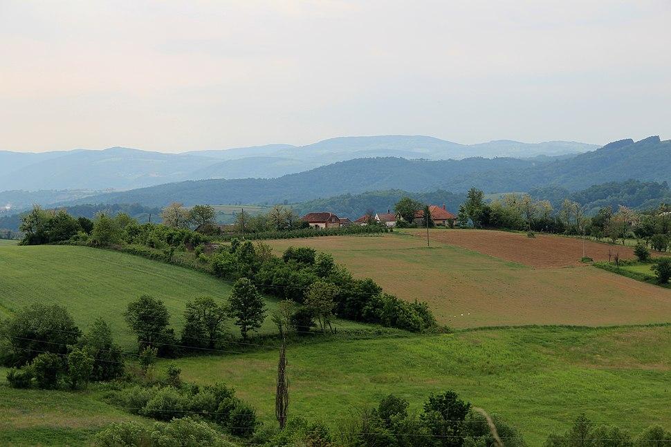 Selo Zlatarić - opština Valjevo - zapadna Srbija - Panorama 14