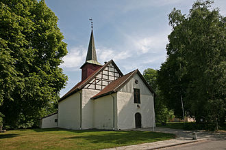 Sem, Norway - Sem Church  Dating from 1100, the church was restored during 1690, 1770, 1924, 1955 and 1959
