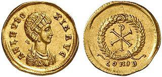 Aelia Eudoxia Roman empress from 395 to 404