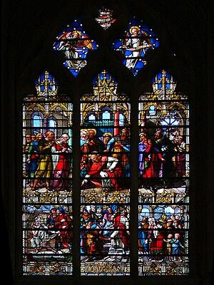 Notre-Dame de Senlis, France.