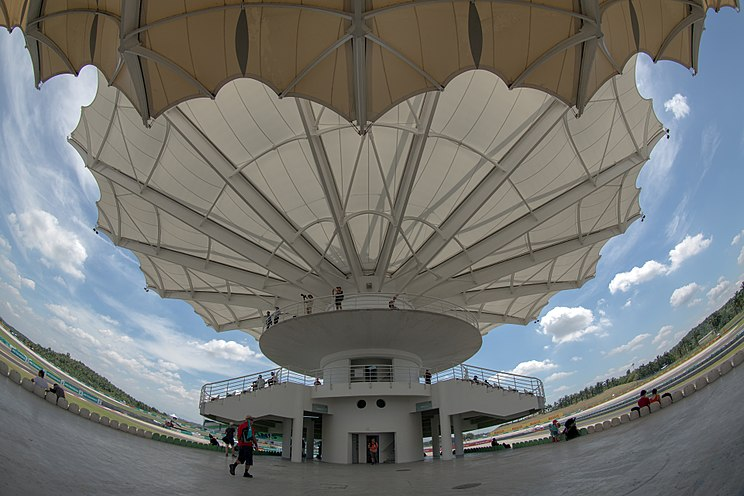 Sepang International Circuit Grandstand Tower 2016 Malaysian GP