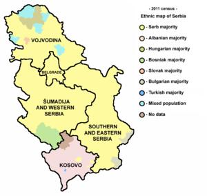 karta centralne srbije Srbija   Wikipedia karta centralne srbije