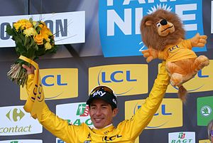 2017 Paris–Nice - Sergio Henao, who won the race by 2 seconds.