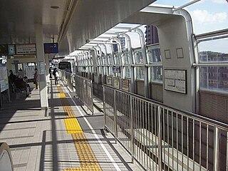 Shōji Station (Toyonaka) Monorail station in Toyonaka, Osaka Prefecture, Japan