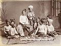 Shan Princess and followers in 1907.jpg