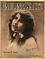 Sheet music cover - PAULINE WALTZ - HESITATION (1914).jpg
