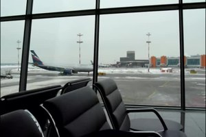 ファイル:Sheremetyevo Intertnational airport.webm