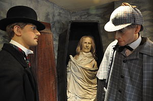 Sherlock Holmes Museum The Disappearance of Lady Frances Carfax 02