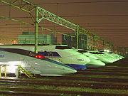 Moderne jernbane i Japan. Bildet kan fritt deles. No (c)opyright