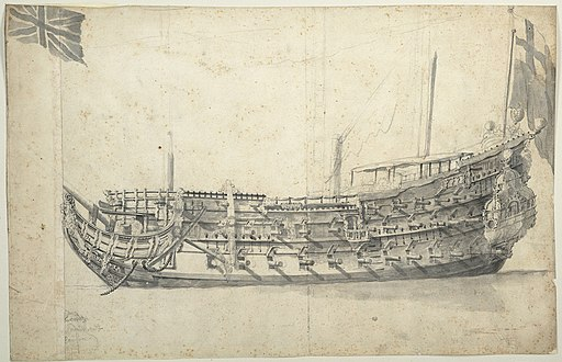 Ship London 1656