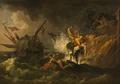 Shipwreck (Pierre Jacques Volaire) - Nationalmuseum - 17896.tif