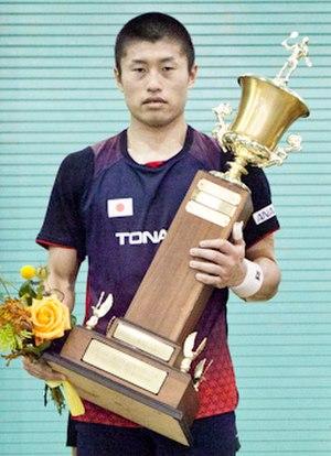 Sho Sasaki - Image: Sho Sasaki US Open Badminton 2011