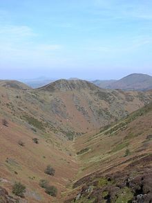Le colline di Long Mynd nel Shropshire in Inghilterra