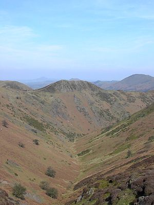 Shropshire Hills AONB - Townbrook Valley in the Long Mynd.